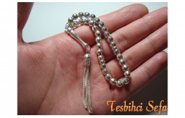 925.Ayar Saf Gümüş Tesbih-4