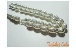 925.Ayar Saf Gümüş Tesbih-3