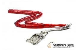 Kesme Model Kırmızı Ateş Kehribar