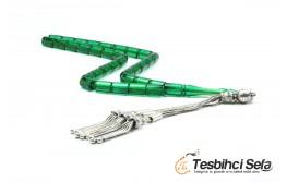 Kesme Model Yeşil Ateş Kehribar