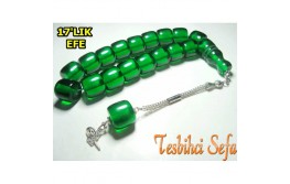 Yeşil Renk 17'Lık Efe Tesbih